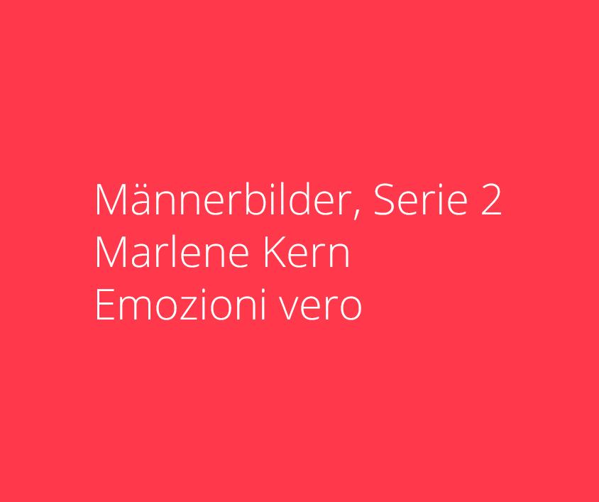Männerbilder, Serie 2, Marlene Kern, Format 120 x 100 cm, Acryl auf Leinwand
