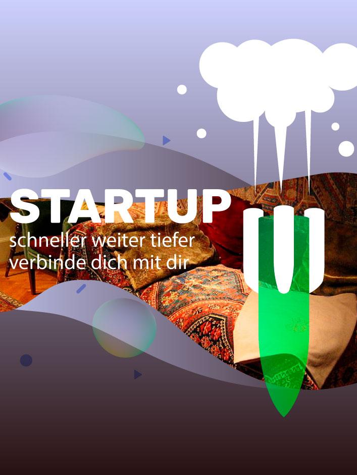 Startup Schneller Weiter Höher Marlene Kern Digital Art