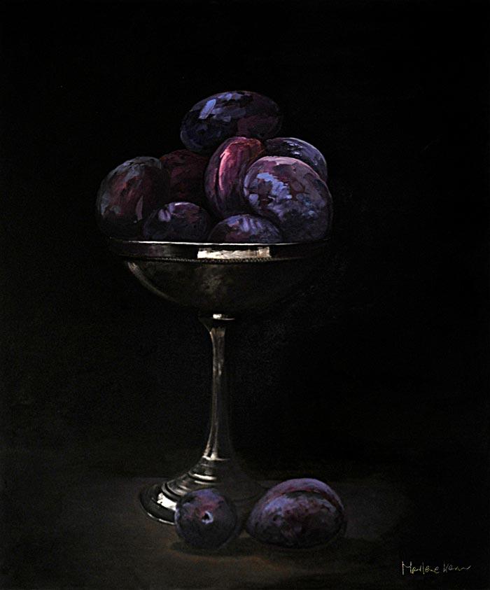 Vergänglichkeit, Marlene Kern, Öl auf Leinwand. 100x120
